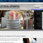 Website Design for Electric Rotor Repair Shop